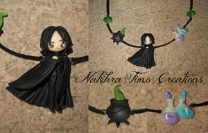 Severus Snape Polymer Clay by Nakihra
