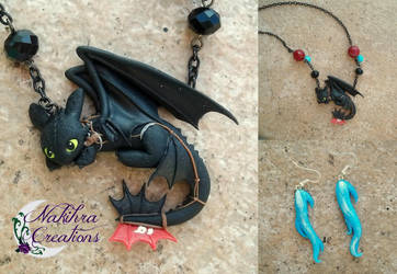 Thootless Dragon Polymer Clay by Nakihra