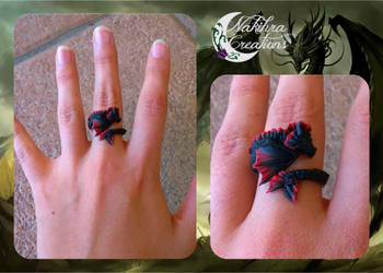 Black Dragon Ring by Nakihra