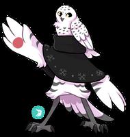 DTR OPEN - Bavom #250 - Snowy Owl - Advent Day 1 by birbean