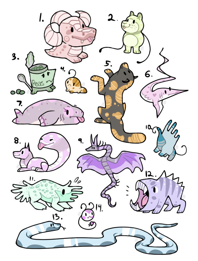 Silly Adopts // OPEN by DogKaiser