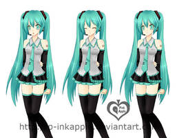 Miku Original by p-inkapple