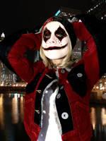 Kristen Bell as Harley Quinn by MadModKevin