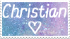 Christian Stamp  (In Scraps) by LaceyBells