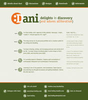 Dani Kelley: Web Design by fat-girl-dani