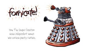 Fornicating Dalek by fat-girl-dani