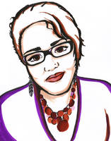 Self-Portrait Experiment by fat-girl-dani
