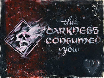 Game Over: The Darkness Consumed You by fat-girl-dani