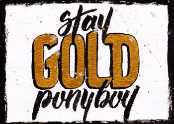 Stay Gold Ponyboy by fat-girl-dani