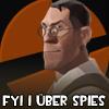 TF2 Avatar : Medic loves spies by NinjaSaus