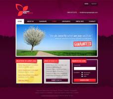 CCP: Web Design Concept by authenticstyle