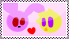 Bonnie X Chica Stamp by MinoPastel
