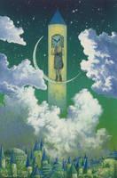 Emerald night by Ebineyland