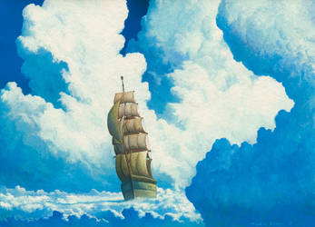 The Sea of Cloud by Ebineyland
