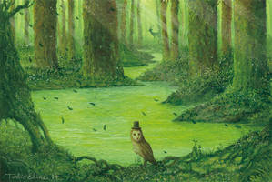 Tranquility Man by Ebineyland