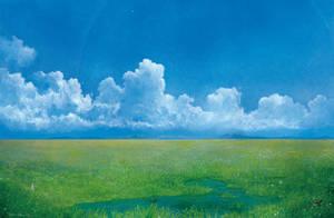 Into the grassland by Ebineyland