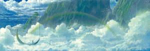 between Clouds by Ebineyland
