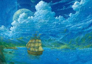 Treasure Island by Ebineyland
