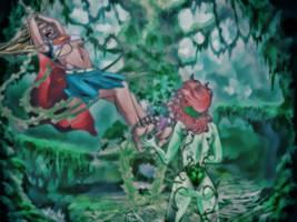 Super Girl Ticklish by pepecoco