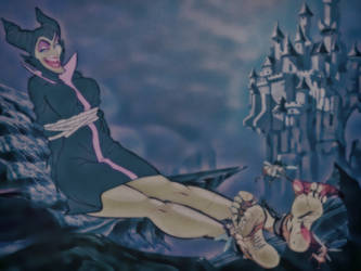 Maleficent tickling punishment by pepecoco