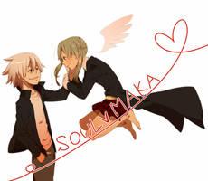 soul and maka by yumekichi