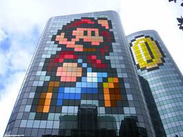 26-story Mario! by J-Skipper