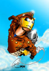 The Rocketeer! by J-Skipper