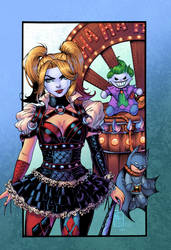 Gotham Girls: Harley Quinn by J-Skipper