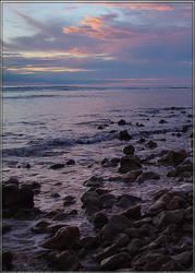 Beach - sunset  001 by m-r-p