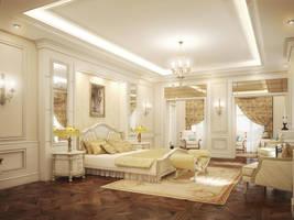 Master bedroom by kasrawy