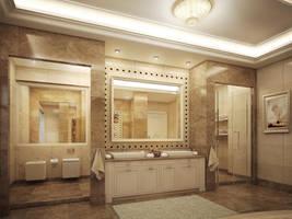 Master bathroom 2 by kasrawy