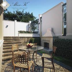 small yard 2 - Tobarra villa by kasrawy