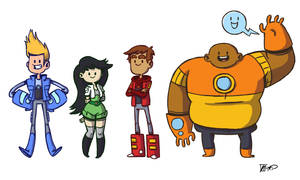 Bravest Warriors by NicParris