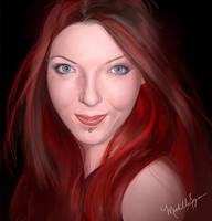 Self Portrait by vixelyn