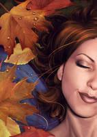 Autumn's Sigh by vixelyn
