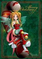 Merry Ho Ho by vixelyn