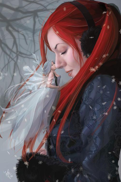 Winter's Kiss by vixelyn