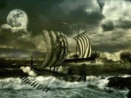 Pursuit of Vikings by writeris