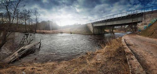 Dark river by writeris