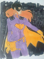 Batgirl by LazyCuki