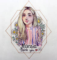 Inktober day 24 - marzia by Ly-s