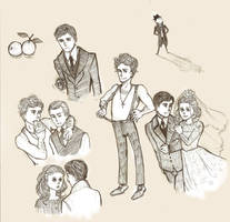 The Godfather Sketches by leightonton