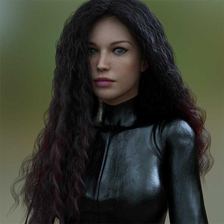 V4 dForce Hair by reedsabc