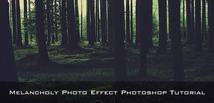 Melancholy Photo Effect by SpEEdyRoBy