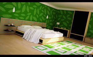 Green room by meszimate