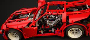 W.I.P. LEGO 8070 Supercar by meszimate