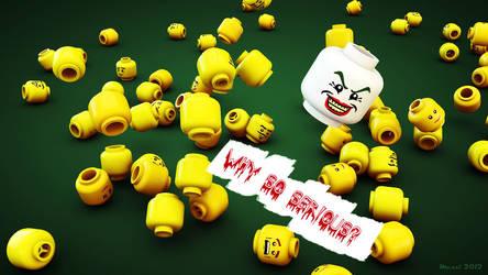 Joker LEGO by meszimate