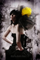 Yellow feather by nena-suicide