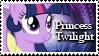 Princess Twilight Stamp by Shiiazu