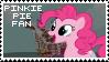 Pinkie Pie Fan Stamp by Shiiazu